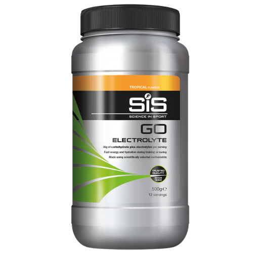 GO SIS ELECTROLYTE 500GRS. TROPICAL