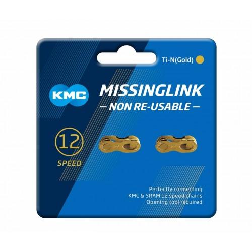 MISSING LINK KMC TI-N GOLD 12 2UN.