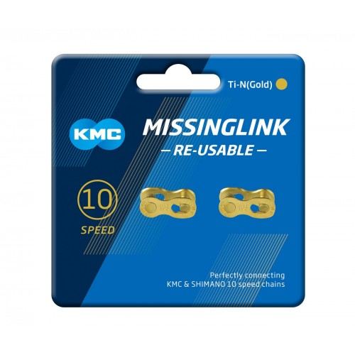 MISSING LINK KMC TI-N GOLD 10 2UN.