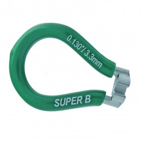 LLAVE RAYOS SUPER B 3.3MM