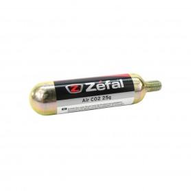 CARTUCHO CO2 ZEFAL 25G.